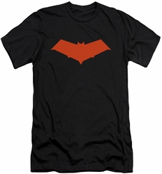 Batman Logo slim-fit t-shirt Red Hood mens black