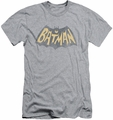 Batman Logo slim-fit t-shirt Show Logo mens athletic heather