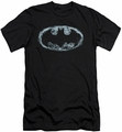 Batman Logo slim-fit t-shirt Smoke Signal mens black