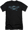 Batman Logo slim-fit t-shirt Two Gargoyles Logo mens black