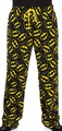 Batman lounge pant logo all over print mens black pre-order