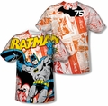 Batman mens full sublimation t-shirt 75 Panels