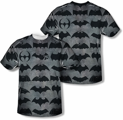 Batman mens full sublimation t-shirt 75 Symbols