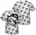 Batman mens full sublimation t-shirt Against The Wall