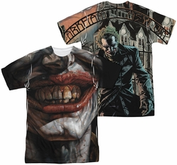 Batman mens full sublimation t-shirt Asylum