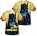 Batman mens full sublimation t-shirt Bat Building