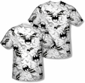 Batman mens full sublimation t-shirt Bat Flight