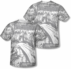 Batman mens full sublimation t-shirt Bat Killers