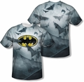 Batman mens full sublimation t-shirt Bat's Logo