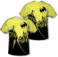 Batman mens full sublimation t-shirt Bat Signal