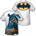 Batman mens full sublimation t-shirt Batbit