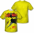 Batman mens full sublimation t-shirt Batman Number One