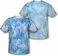 Batman mens full sublimation t-shirt Brooding