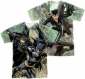 Batman mens full sublimation t-shirt Catch