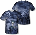 Batman mens full sublimation t-shirt Catch The Joker