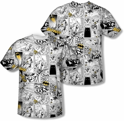 Batman mens full sublimation t-shirt Comic All Over