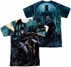 Batman mens full sublimation t-shirt Coming For You