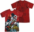 Batman mens full sublimation t-shirt Crime Scene
