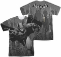 Batman mens full sublimation t-shirt Grey Race