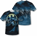Batman mens full sublimation t-shirt Heed The Call