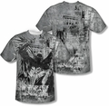 Batman mens full sublimation t-shirt Knight Life