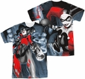 Batman mens full sublimation t-shirt Nice Shot
