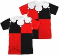 Harley Quinn mens full sublimation t-shirt costume