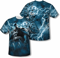 Batman mens full sublimation t-shirt Stormy Kngiht