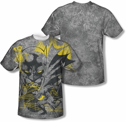 Batman mens full sublimation t-shirt Symbiotic