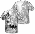 Batman mens full sublimation t-shirt Vigilance