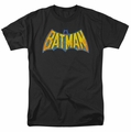 Batman Neon Distress Logo DC Originals mens t-shirt