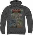 Batman pull-over hoodie #232 Cover adult charcoal