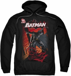 Batman pull-over hoodie #655 Cover adult black