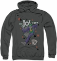 The Joker pull-over hoodie Always A Joker adult charcoal