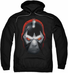 Batman pull-over hoodie Bane Head adult black