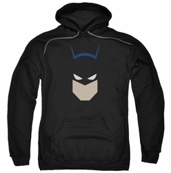 Batman pull-over hoodie Bat Head adult black