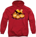 Batman pull-over hoodie Bat O Lanterns adult red