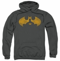 Batman pull-over hoodie Bat Symbol Knockout adult charcoal