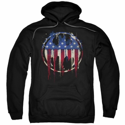 Batman pull-over hoodie Bleeding Signal adult Black