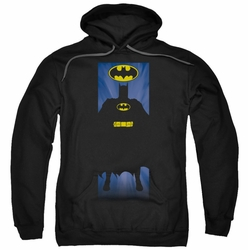 Batman pull-over hoodie Block adult black