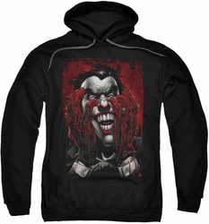 Joker pull-over hoodie Blood In Hands adult black