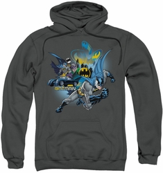 Batman pull-over hoodie Call Of Duty adult charcoal
