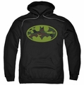 Batman pull-over hoodie Camo Logo adult black