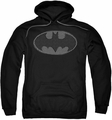 Batman pull-over hoodie Chainmail Shield adult black