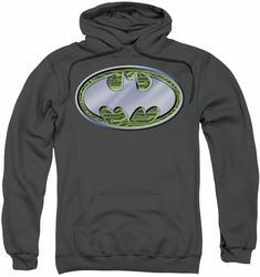 Batman pull-over hoodie Circuits Logo adult charcoal