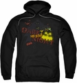 Batman pull-over hoodie Dark And Scary Night adult black