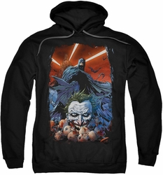 Batman pull-over hoodie Detective Comics #1 adult black