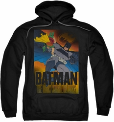 Batman pull-over hoodie DK Returns adult black
