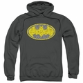 Batman pull-over hoodie Elephant Rose Signal adult Charcoal