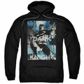 Batman pull-over hoodie Fighting The Storm adult black